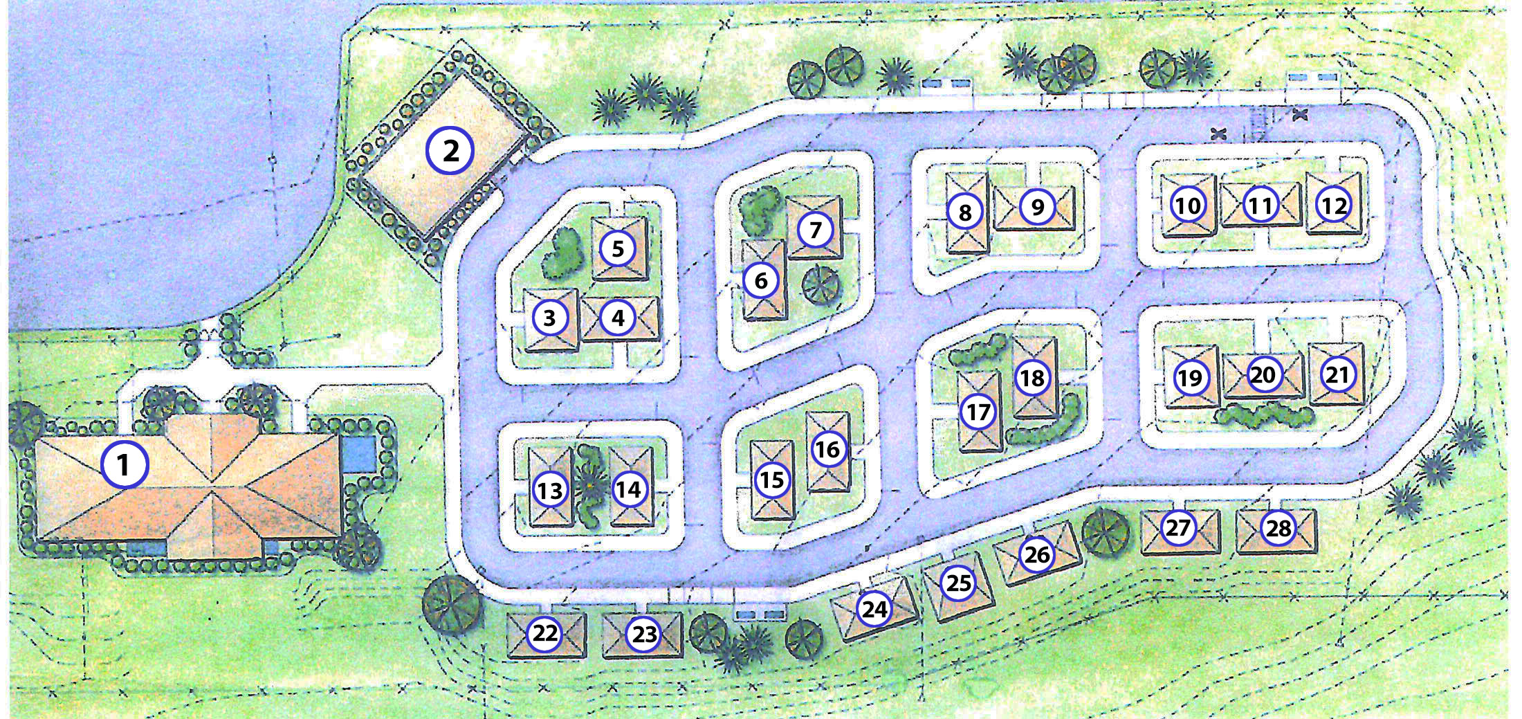 Chautauqua Safety Village Map