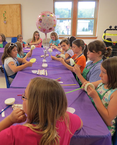 Birthday Party at the Children's Safety Village