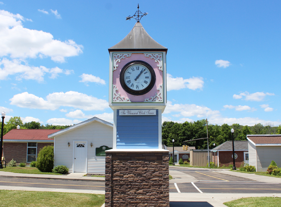 The Whimsical Clock Tower